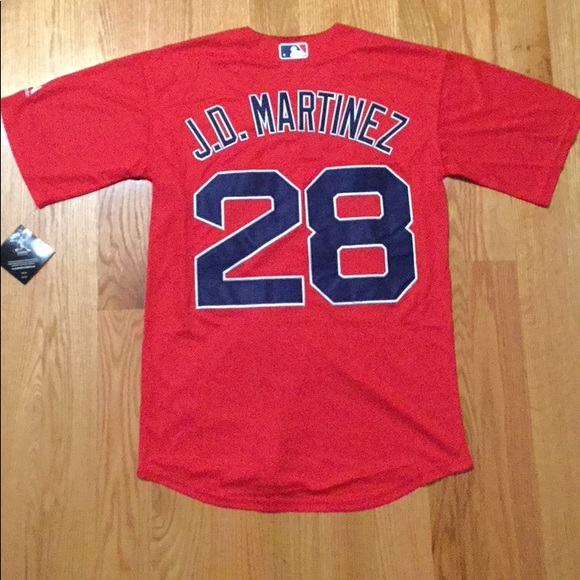 the best attitude 8fd18 8f608 Boston Red Sox #28 JD Martinez Jersey